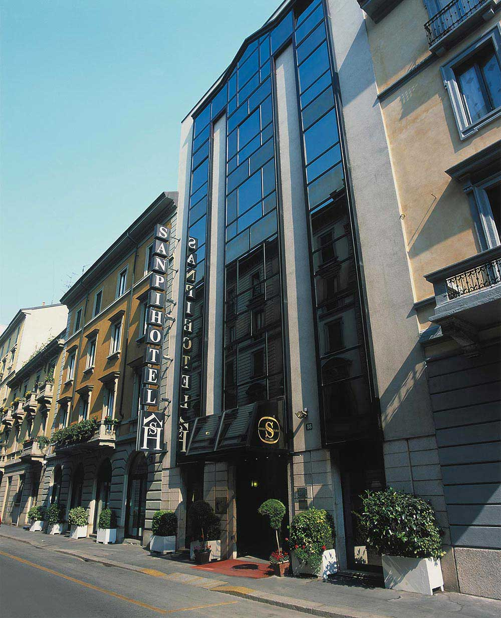 Hotel sanpi milano boutique hotel in the center of milan for Boutique hotels milan